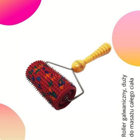 Wałek wieloigłowy do masażu całego ciała