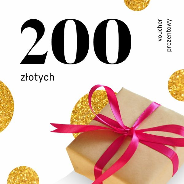 voucher prezentowy o wartości 200 zł
